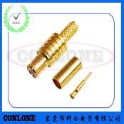 MCX公头焊线式铆压式RG316接线头