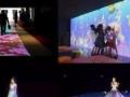 微信签到抽奖摇一摇全息投影雾屏钻石签到地面互动VR