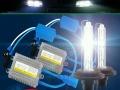65W55W氙气灯套装汽车疝气灯大灯泡近远光H1h