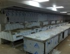 工厂饭店厨房工程 厨具维修 燃气管道改造 通风工程
