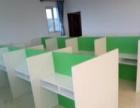 张家口办公桌一对一培训桌课桌椅电话销售桌