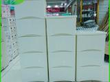 厂家批发 抽屉式塑料整理收纳柜 欧式优质塑料收纳柜