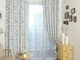 现代简约印花遮光窗帘 客厅卧室窗帘面料定制 厂家直销