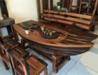 广东中山老船木家具厂家直销办公桌椅茶桌椅餐桌椅沙发批发