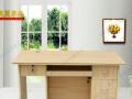 全新电脑桌简约台式桌家用经济型办公桌书桌书架组合写字桌