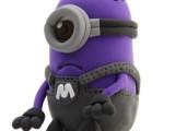 儿童益智玩具批发紫仆人公仔3d造型彩泥 太空泥超轻粘土超轻彩泥