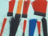 毛刷厂直销环卫扫路车扫刷 清洗车扫路刷 塑料方块刷子