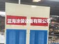 无泵水幕环保烤漆房厂家直销汽车烤漆房报价找山东蓝海