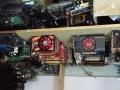 大量便宜出售二手电脑整机和配件