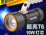 邬氏小野猪LED防水远射铝合金可充电强光手提手电筒【还有更低】