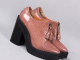 2014新款 欧美外贸真皮 厚底松糕鞋 欧州站 高跟女鞋子 厂家