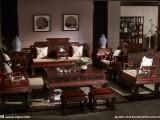 专业收购 武汉二手红木家具回收 办公室红木家具沙发桌椅博古架