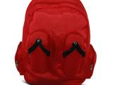 生产供应 红色女式抗震电脑包双肩包 时尚电脑包 防水电脑包
