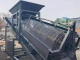 大型篩沙機滾筒篩沙機20型30型50型80型振動篩沙機移動式
