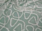 现货供应 胚布 欧根纱绣花 玻璃纱 印花面料 面料印花G2010