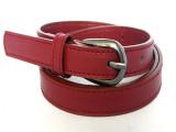义乌厂家直供淘宝热卖红色腰带 女式 皮带 外贸细款pu红腰带批发