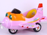 较新款儿童飞机玩具电动车