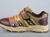 2014新款儿童运动鞋男女童跑步鞋防水防滑PU面旅游鞋出口外贸鞋