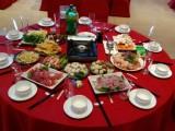 年会餐优质供应商,专业上门定制企业年会围餐自助餐大盆菜