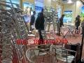 上海专业婚庆家具租赁 高档竹节椅租赁 金色椅子出租