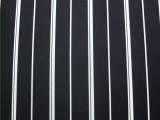 【厂家供应】涤纶竖条纹面料 垂感质感女装