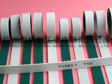 65mm宽T10齿面加绿布聚氨酯同步带 广州市腾英品牌