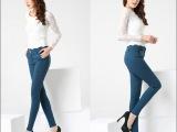 2014春夏装长裤提臀显瘦休闲裤女裤大码纯色打底裤一件代发