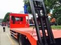 解放J6L单桥平板车可拉12-15吨挖掘机钩机收割机装载机