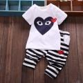 童装2015夏装新款韩版宝宝短袖童套装 中小男童全棉一件代发05