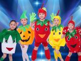 六一儿童舞蹈服演出服男女童青菜水果卡通造型服表演服万圣节服装