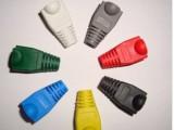 RJ45杂色保护套 彩色网线护套 网络水晶头护套 (1000个/