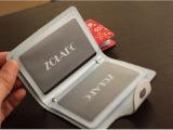 真皮印花卡包创意牛皮卡夹真皮卡包女式卡片包防磁银行卡套