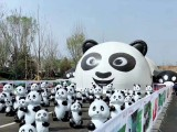 玻璃钢熊猫展租赁熊猫岛熊猫乐园出租出售