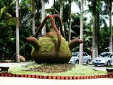 纳境园林立体花坛设计,专业五色草造型经验丰富