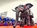 南阳高端机械大象租赁,机械大象厂家 雨屋展出租