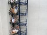 欧式 铁艺 五层架 置物架 浴室架 厨房
