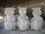三维泡沫机雕3D泡沫雕塑人物泡沫雕刻泡沫字泡沫艺术品