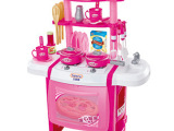 儿童过家家玩具 带灯光仿真过家家厨房玩具厨具餐具套装