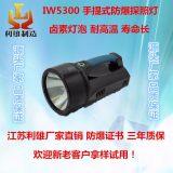 IW5300手提卤素大功率防爆探照灯强光高射程节能高亮工作灯