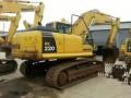 郑州二手挖机个人转让小松低价卖200和220型号齐全