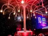 网红馆一颗会吐泡泡的烟雾泡泡树
