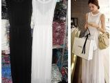 2014春季新款韩版瑞丽百搭显瘦修身两件套连衣裙 配背心