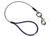供应各种不锈钢钢丝绳狗链 涂塑钢丝绳狗链 宠物链