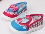 婴儿鞋品牌童鞋 宝宝鞋韩版软底帆布鞋 童鞋批发厂家直销2014秋