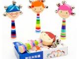 儿童摇铃手摇铃婴儿铃铛玩具0-1岁宝宝玩具