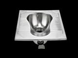 厂家直销304不锈钢高品质公厕蹲便器学校厕所景区便池