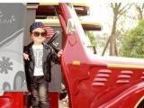 绵竹大风车儿童摄影提示注意服装与道具的搭配