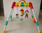 德家打包转让3个月婴儿健身架子早教益智球玩具架