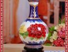 青花瓷大花瓶 手绘花瓶 高档家居装饰品大花瓶商务礼品大花瓶