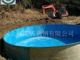 玻璃钢鱼池厂家A安龙玻璃钢鱼池厂家定制